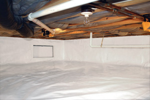 Crawl Space Repair After in Ithaca