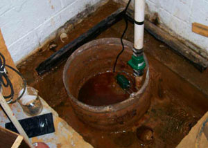 Extreme clogging and rust in a Walton sump pump system