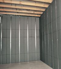 Thermal insulation panels for basement finishing in Elmira, New York