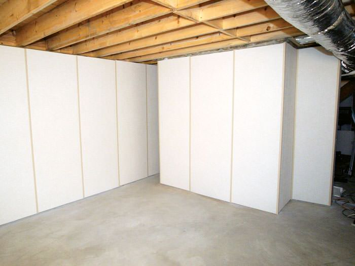 ... Fiberglass Insulated Basement Wall System In Windsor, NY